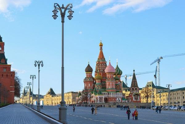 богатый город Москва